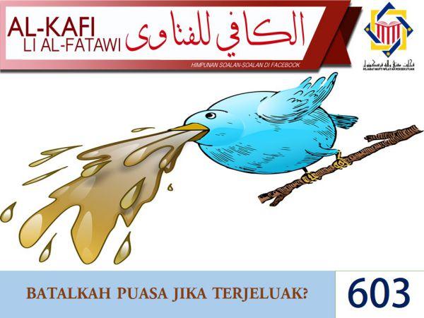 Pejabat Mufti Wilayah Persekutuan - AL-KAFI  603   BATALKAH PUASA ... d04451270a