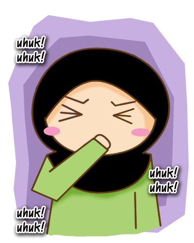 Gambar Kartun Lagi Flu